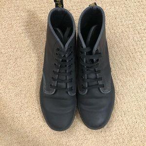 Black dr marten boots